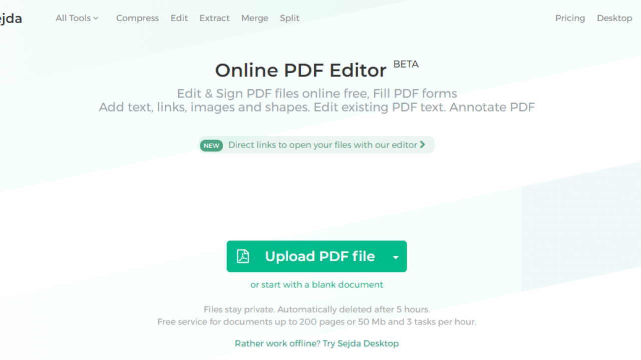 Top 5 Free PDF Online and Offline Editing Software that you can download