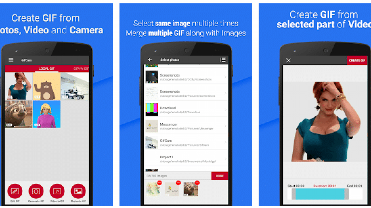 How To Create Animated GIFs From Images on Android
