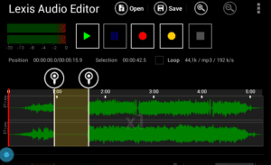 Best Audio Editing Apps for Android Lexis Audio Editor
