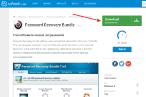 how to recover outlook password, also passwords for PDF, Windows