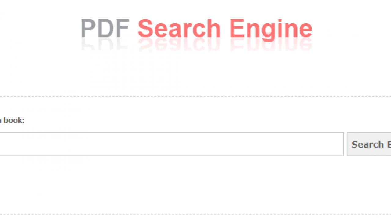 Pdf Book Search
