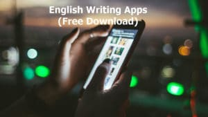 english writing apps free download