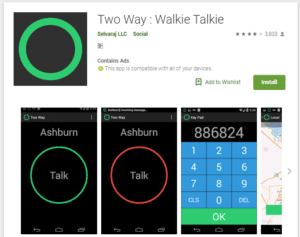 Two Way - Free Walkie-Talkie Apps For Android and iPhone