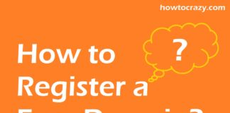 How to Register a Free Domain