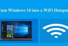Make Hotspot For Windows 10 PC