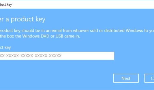 Microsoft Windows Product Keys - Windows 8, 10, Server 2016