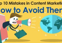 10 Mistakes of Content Marketing