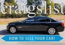 How to Sell Your Vehicle on Craigslist