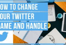 How To Change Your Twitter Handle and Username